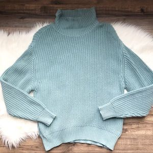 French Connection Knit Turtleneck Sweater NWT Sz M
